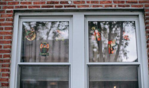 sticker fenêtre