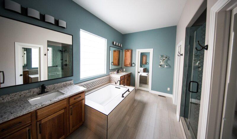 salle bain plafonnier